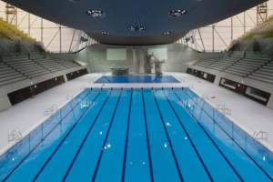 London Aquatic Centre Charity swim
